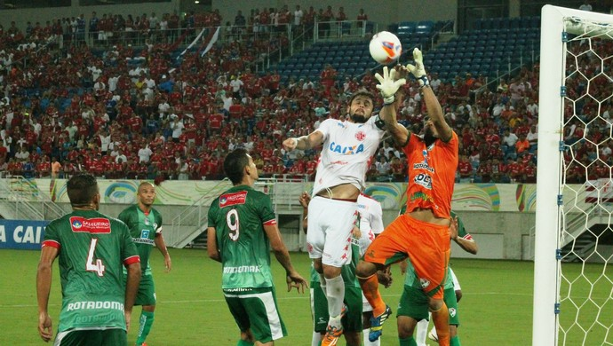 Zé Antônio - América-RN x Icasa (Foto: Canindé Pereira/Divulgação)