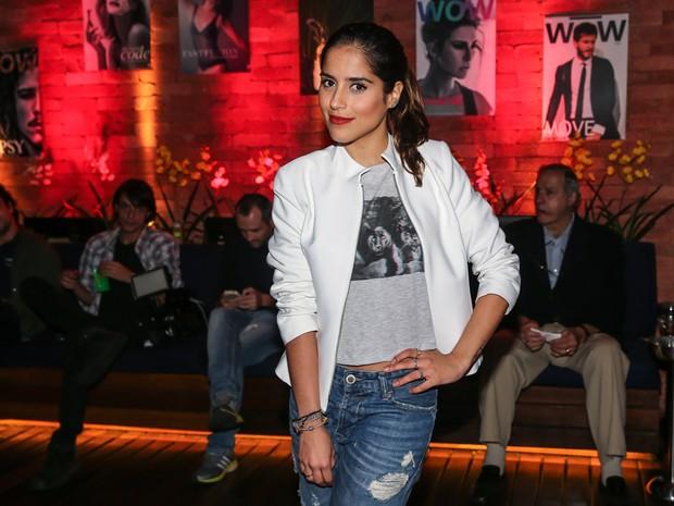 Camilla Camargo em evento em São Paulo (Foto: Manuela Scarpa/ Foto Rio News)