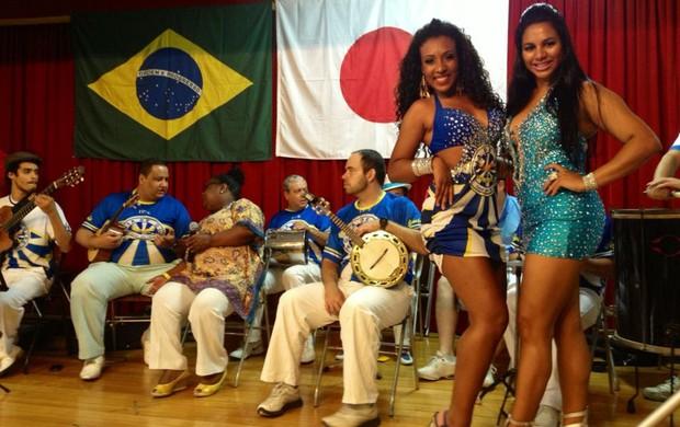 Torcida Brasil x Japão Liberdade (Foto: Diogo Venturelli)