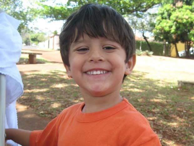 Joaquim, de 3 anos, morto em Barretos (Foto: Divulgação/Arquivo pessoal)