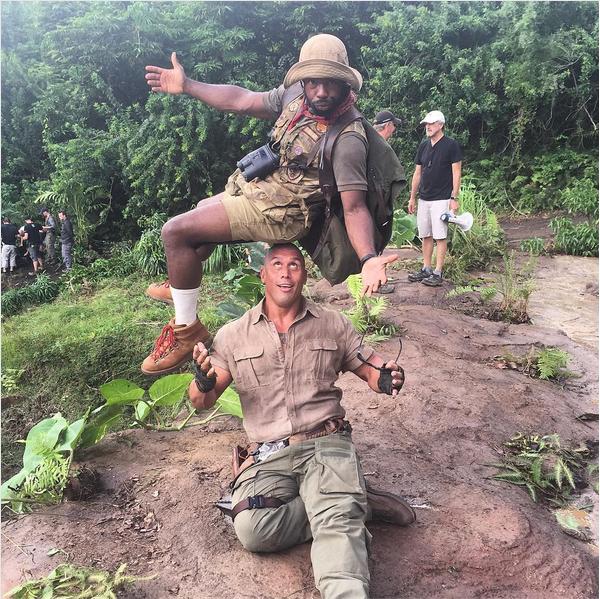 O primo e dublê do ator Dwayne The Rock Johnson (Foto: Instagram)