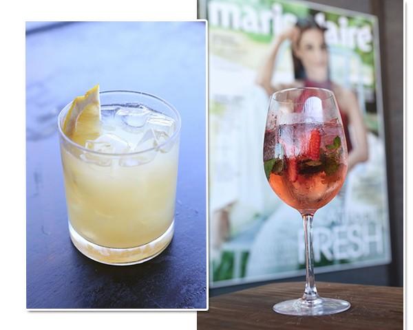 Drinks preparados pela Diágeo para a feijoada da Marie Claire (Foto: Reginaldo Teixeira)