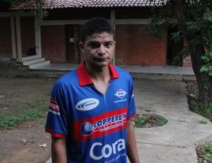 Thiago Campelo, zagueiro do Piauí (Foto: Wenner Tito/GLOBOESPORTE.COM)