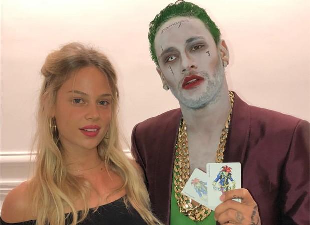 Neymar e a modelo israelense Bar Zomer (Foto: Reprodução/Instagram)