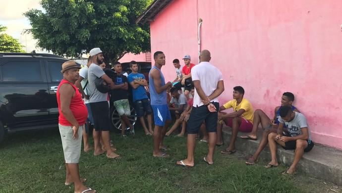 Auto Esporte, greve dos jogadores  (Foto: Lucas Barros / GloboEsporte.com)