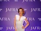 Claudia Raia lança perfume com a presença de famosos em São Paulo