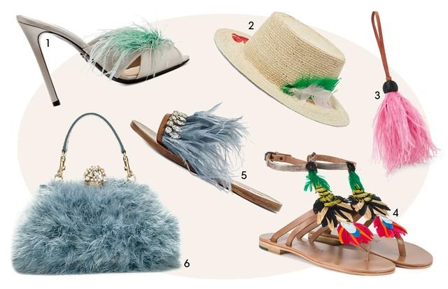 1. Prada (US$785) 2. Sensi Studio (US$145) 3. Chaveiro Hillier Bartley (US$59) 4. Álvaro (R$ 2.000) 5. Miu Miu (US$970) 6. Dolce & Gabbana (R$ 17.820) (Foto: Reprodução)