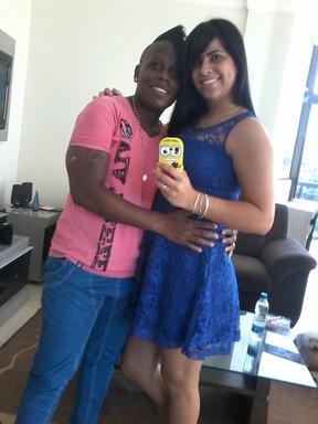 Neném e Thais Baptista (Foto: Arquivo Pessoal)