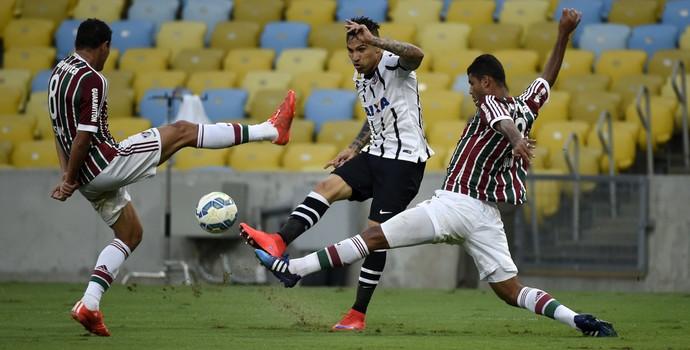Guerrero Fluminense x Corinthians Maracanã (Foto: André Durão)