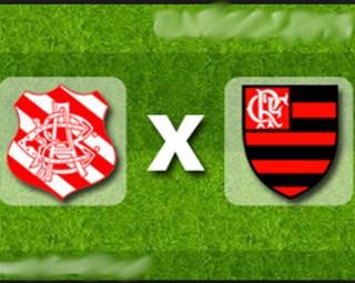 Bangu enfrenta o Flamengo nesta quarta (25) (Foto: RJTV 1ª Edição)