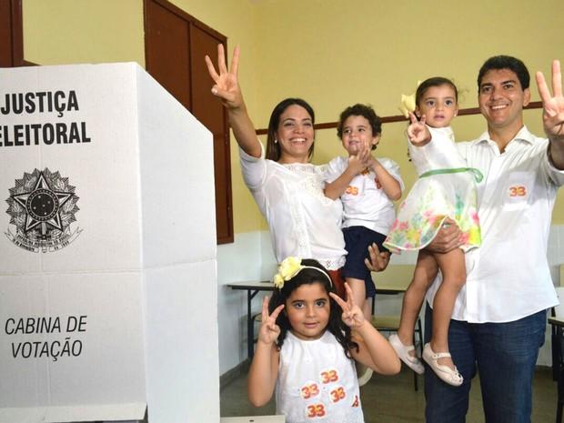 Eduardo Braide é advogado e já está em seu segundo mandato de deputado estadual (Foto: Michel Sousa/G1)