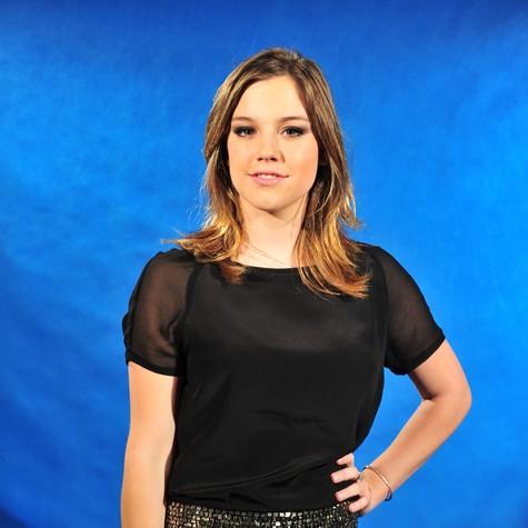 Alice Wegmann:  jornalismo é o plano B (Foto: João Miguel Júnior/ TV Globo)