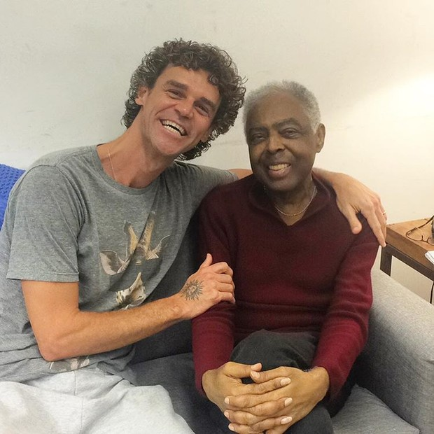 Gilberto Gil e Caetano Veloso (Foto: Reprodução / Instagram)