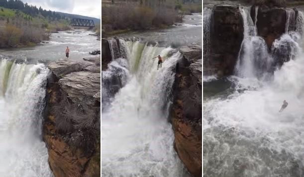 Um salto de mais de 12 metros