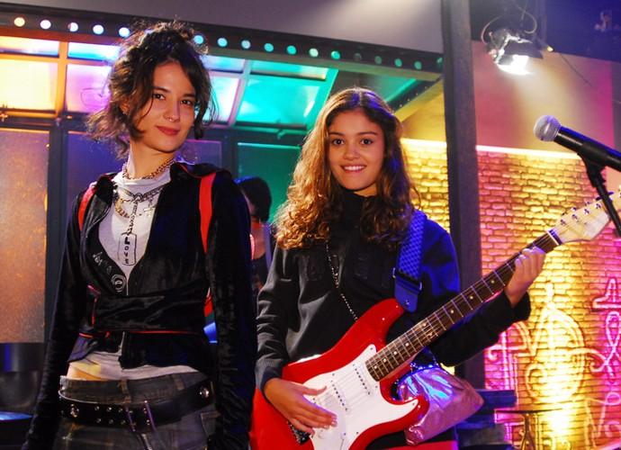 Keli atuou em Malhação ao lado de Sophie Charlotte, em 2008. (Foto: Fabrício Mota/TV Globo)
