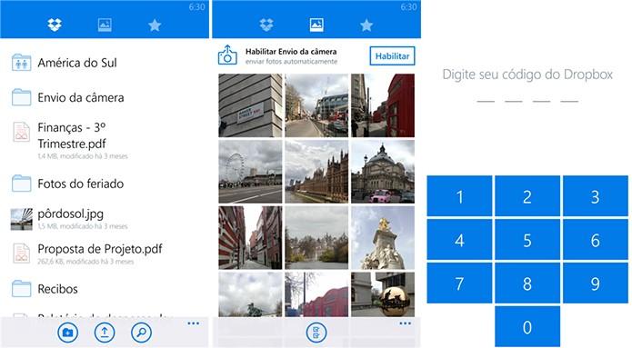 Dropbox finalmente lançou um aplicativo oficial para Windows Phone (Foto: Divulgação/Windows Phone Store)