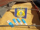 Polícias tiram de circulação quase 2 mil caixas de cigarros paraguaios