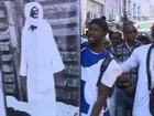 Imigrantes senegaleses no RS fazem ato em homenagem a líder islâmico