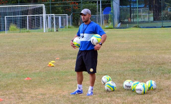 Técnico Rafael Guanaes São José dos Campos São José FC Joseense (Foto: Danilo Sardinha / GloboEsporte.com)
