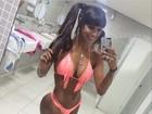 Panicat Carol Dias perde cinco quilos com dieta e malhação