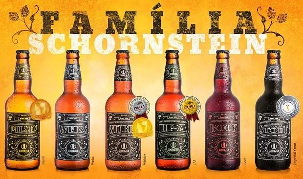 Cervejas da Schornstein (Foto: Divulgação)