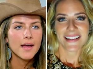 Antes e depois de Giovanna Ewbank (Foto: Vídeo Show / TV Globo)