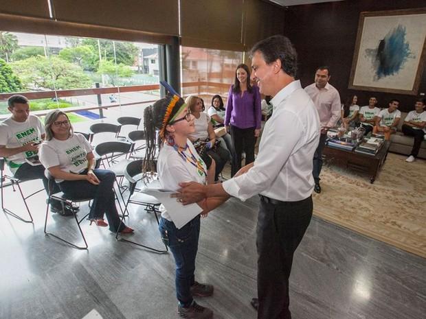 Número de alunos da rede pública do Ceará aprovados no Enem cresce 27%, diz Seduc (Foto: Governo do Estado/Divulgação)