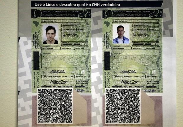 Nova Carteira de Habilitação com o QR Code - carteira de motorista -  (Foto: José Cruz/Agência Brasil)
