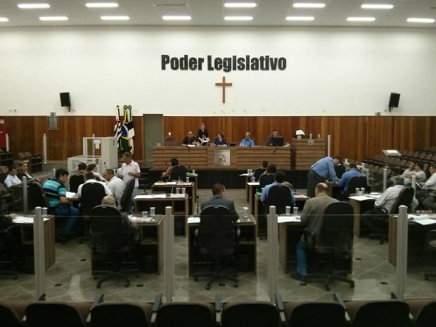 Câmara de Itapetininga (Foto: Cláudio Nascimento/ TV TEM)
