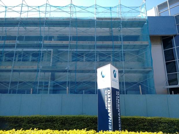 Centro de treinamento da Anac passou por reforma de R$ 1 milhão e será desativado, para mudança para Brasília (Foto: Arquivo pessoal/G1)