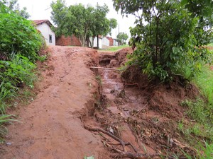 Espaço relatado no mapeamento é uma rua localizada no distrito de Ouro Branco (Foto: Marcelo Gramani/IPT/Cedida)