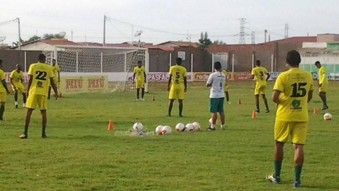 RN - Assu treino Estádio Edgarzão (Foto: Divulgação/Assu)