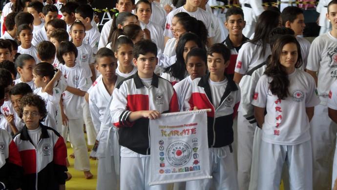 Campeonato Paraibano de Karatê, Campina Grande (Foto: Divulgação)