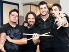 Malta ensina a tocar 'Memórias', música apresentada por eles nas Audições