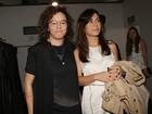 Maria Gadú vai com a mulher, Lua Leça, assistir a desfile no SPFW