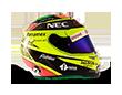 Capacete Formula 1 2016 - Perez