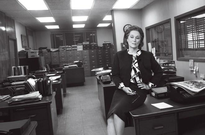 Meryl Streep como Katharine Graham (Foto: Reprodução/Vogue América)