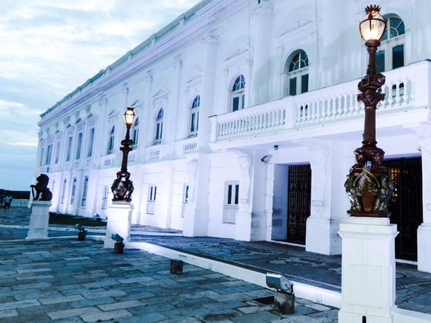Palácio dos Leões, em São Luís (MA) (Foto: Jonas Alves Júnior / VC no G1)