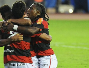 Ibson, Gol Bahia x Flamengo (Foto: Alexandre Vidal / Fla Imagem)