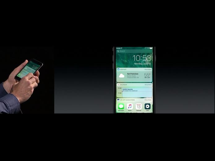 iOS 10 (Foto: Reprodução/Apple)