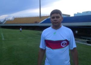 Taquarussú se classificou para próxima fase sem vencer nenhum jogo na Segundona  (Foto: Edson Reis/GloboEsporte.com)