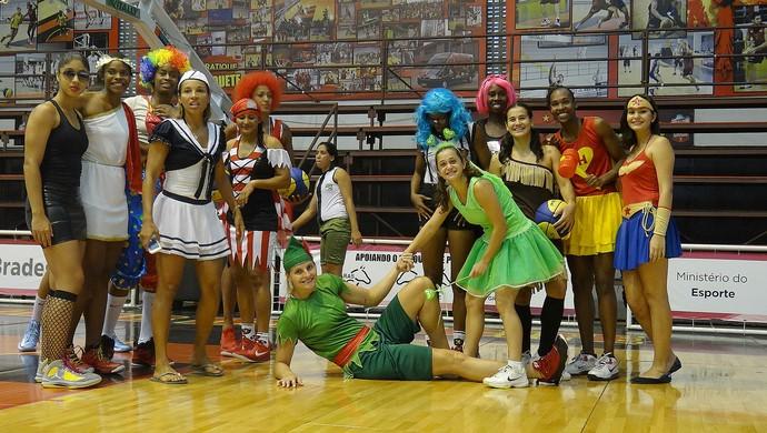 basquete sport treino fantasia (Foto: Thiago Augustto)