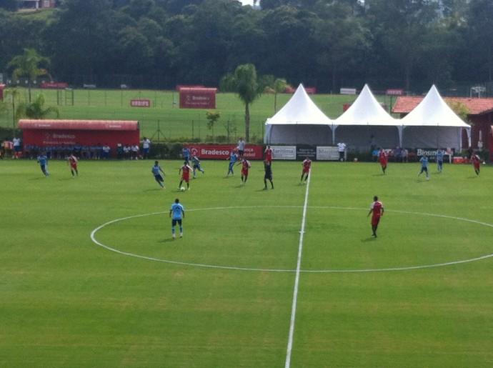 São Paulo jogo treino (Foto: Carlos Augusto Ferrari)