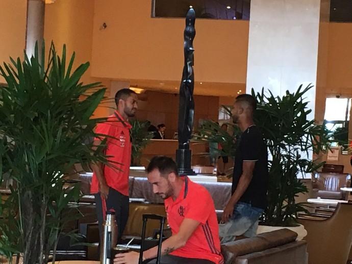 Jorge, Flamengo (Foto: Amanda Kestelman)