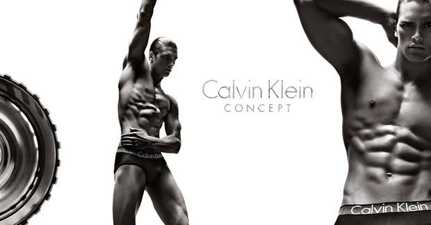 Prévia do comercial da Calvin Klein Concept com Mathew Terry (Foto: Calvin Klein/Divulgação)