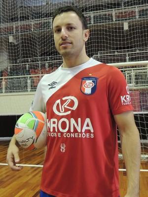 Leco Joinville Futsal (Foto: João Lucas Cardoso)