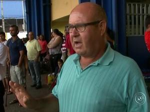 Porteiro perde voo para Fortaleza após paralisação dos ônibus  (Foto: Reprodução / TV TEM)