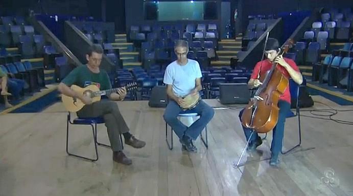 música popular , temática e improvisação (Foto: Amazônia TV)
