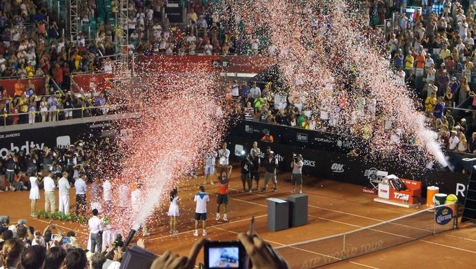 Nadal Rio Open tênis (Foto: Matheus Tiburcio)