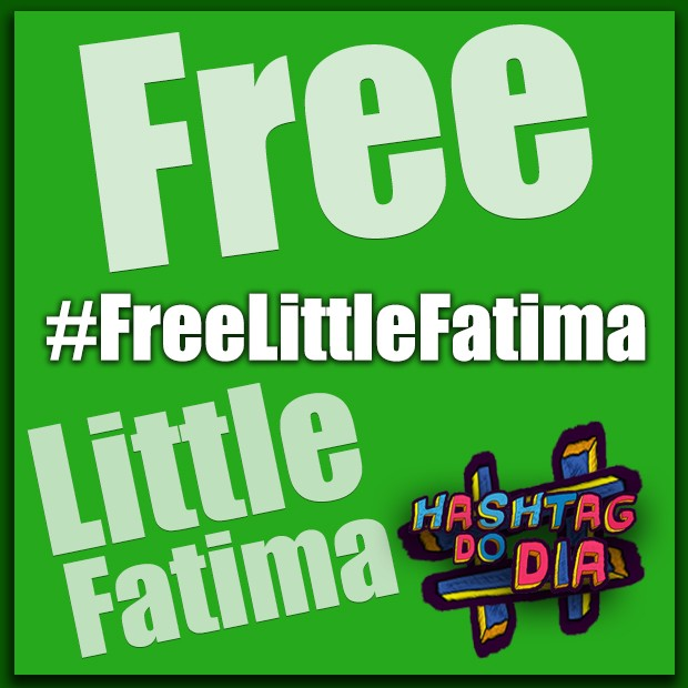 #HashtagDoDia: Free Little Fatima (Foto: Malhação / TV Globo)